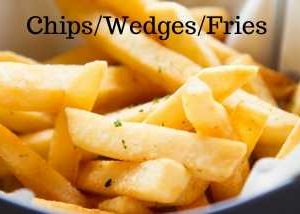 Chips, Wedges and Fries category for Hogans Farm shop