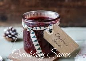 cranberry sauce for christmas turkey