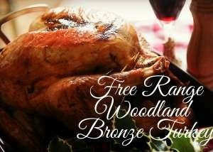Free Range Woodland Bronze Irish Turkey
