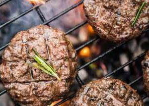 Frozen Beef Burgers selection