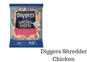 Diggers Shredded Chicken Range