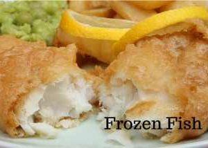 Frozen Fish available from Hogans Farm Shop