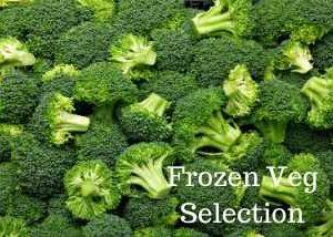 Frozen Veg bags from Hogans Farm Shop